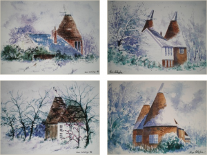 Oast Card Set